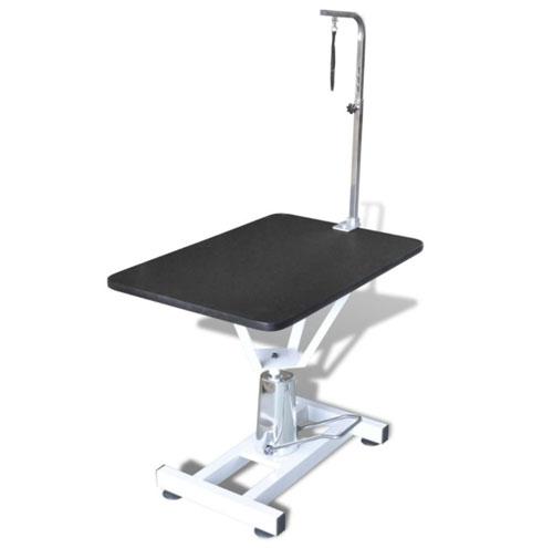 Table automatique grâce à un vérin hydraulique