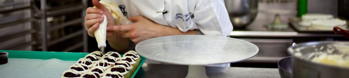 Préparation de gâteaux et patisseries