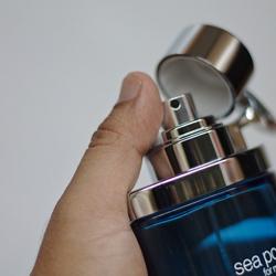 Un homme parfumé