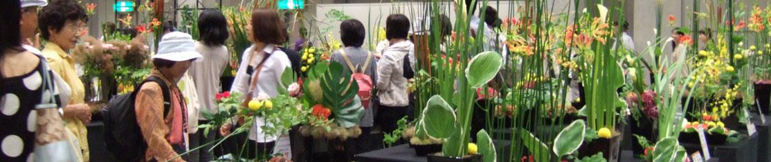 Concours d'arrangement floraux Ikebana et Kokedama