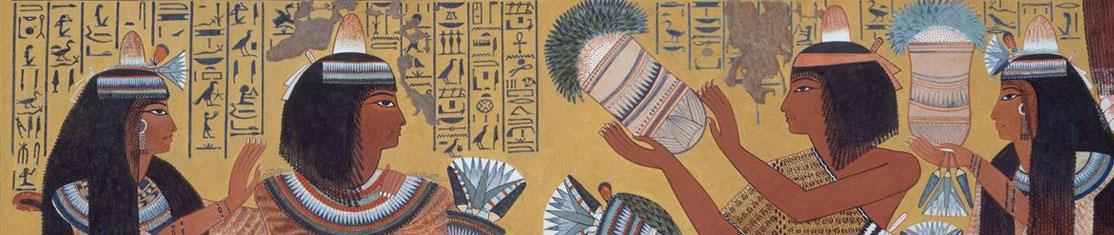 Les egyptiens cultivés les Fleurs il y a très longtemps