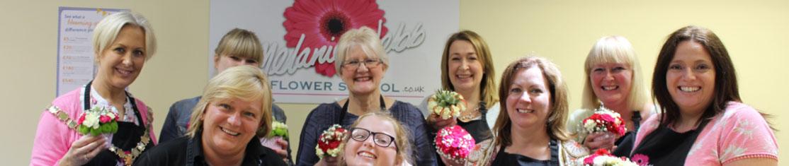 Cours d'art floral pour personnes au chômage souhaitant se reconvertir comme Fleuriste