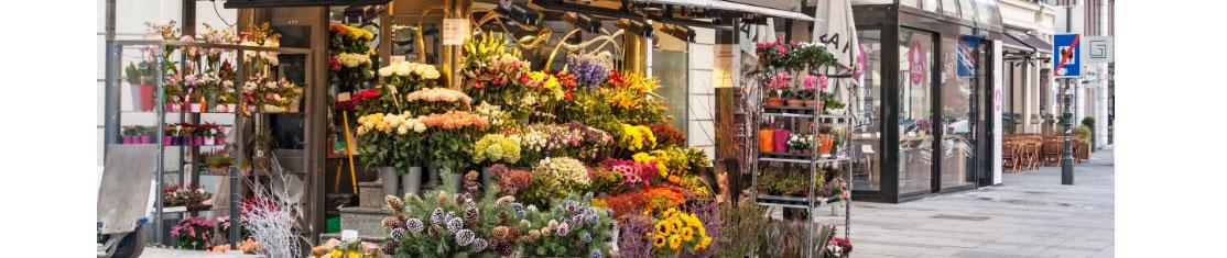 Choisissez une rue piétonne avec du passage pour mettre votre boutique de Fleur