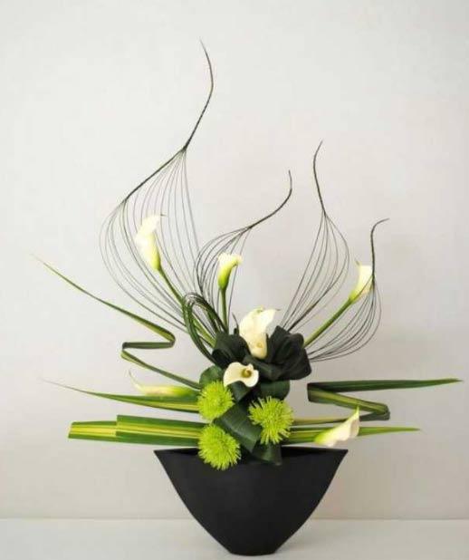 Diplôme attestant sa certification à l'art floral Japonais