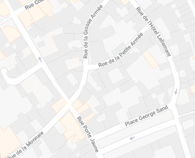 Choisir une rue passante