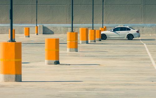 Espace pour se garer