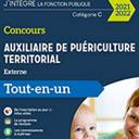 Concours Auxiliaire de puériculture territorial 2021-2022 - Tout-en-un: Tout-en-un