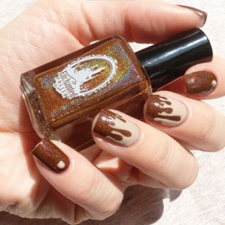 Vernis chocolat pour ongles