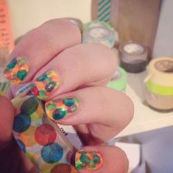 Rubans pour nail art : le masking tape