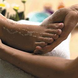 Soins et massage des pieds