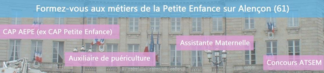 Ecole de Formation petite enfance sur Alençon