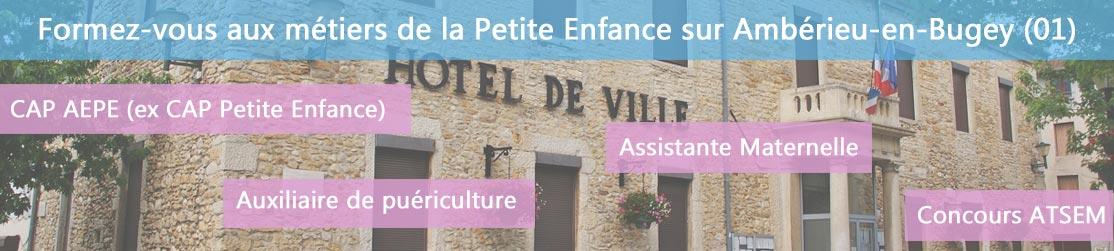 Ecole de Formation petite enfance sur Ambérieu-en-Bugey
