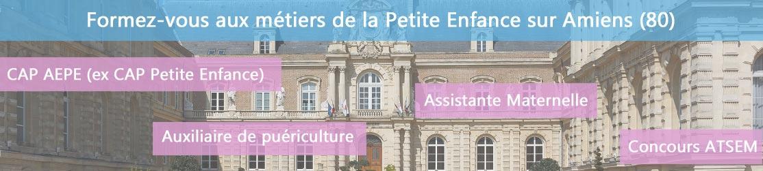 Ecole de Formation petite enfance sur Amiens