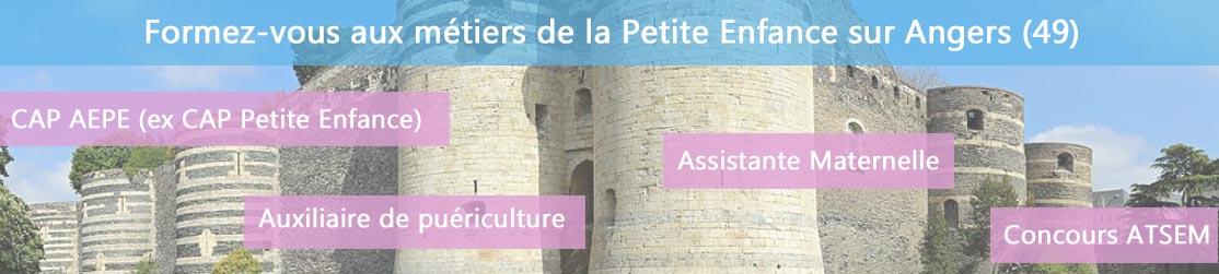 Ecole de Formation petite enfance sur Angers