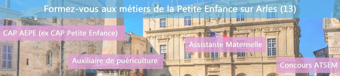 Ecole de Formation petite enfance sur Arles