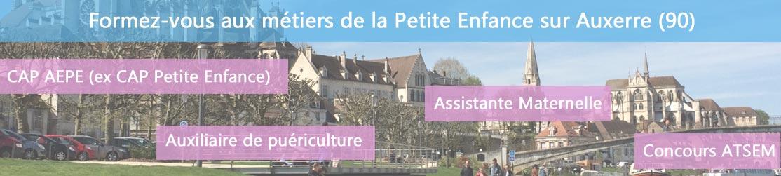 Ecole de Formation petite enfance sur Auxerre