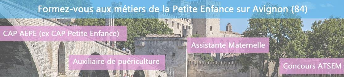 Ecole de Formation petite enfance sur Avignon