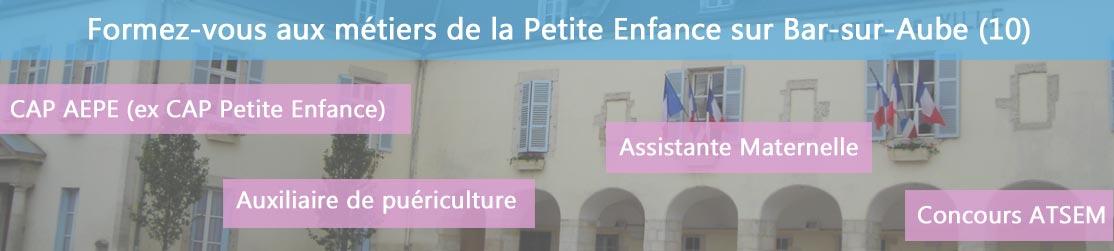 Ecole de Formation petite enfance sur Bar-sur-Aube
