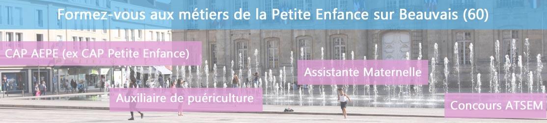 Ecole de Formation petite enfance sur Beauvais