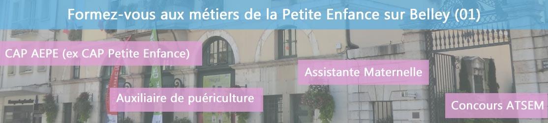 Ecole de Formation petite enfance sur Belley