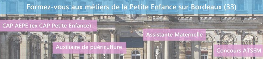 Ecole de Formation petite enfance sur Bordeaux
