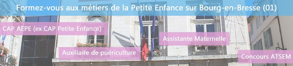 Ecole de Formation petite enfance sur Bourg-en-Bresse