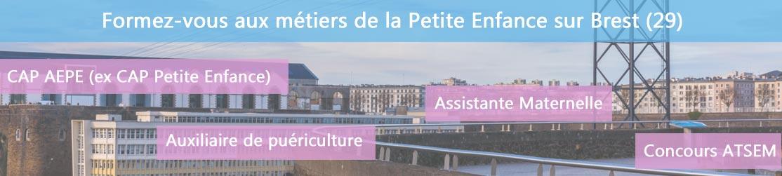 Ecole de Formation petite enfance sur Brest