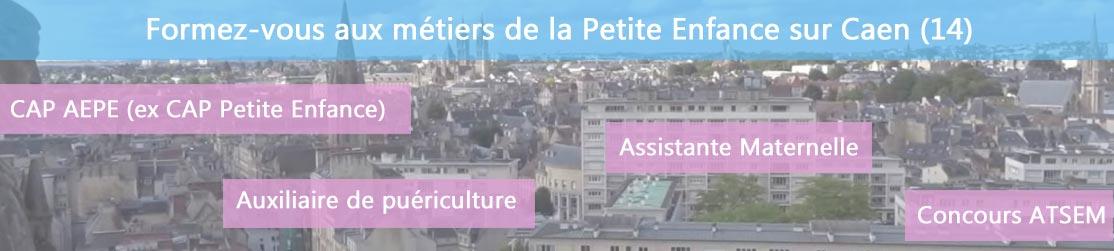 Ecole de Formation petite enfance sur Caen