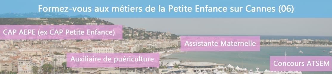 Ecole de Formation petite enfance sur Cannes