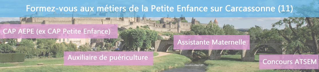 Ecole de Formation petite enfance sur Carcassonne