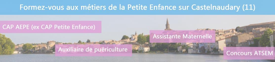 Ecole de Formation petite enfance sur Castelnaudary