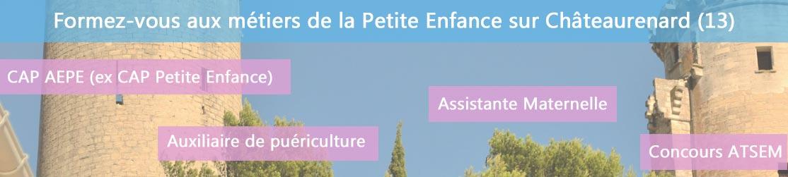 Ecole de Formation petite enfance sur Châteaurenard