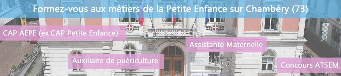 Ecole de Formation petite enfance sur Chambéry