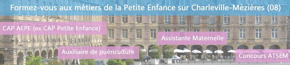Ecole de Formation petite enfance sur Charleville Mézières