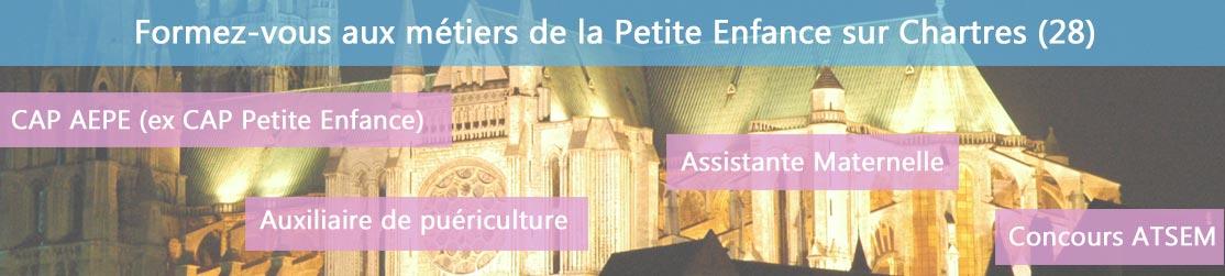 Ecole de Formation petite enfance sur Chartres