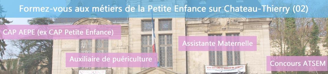 Ecole de Formation petite enfance sur Château-Thierry