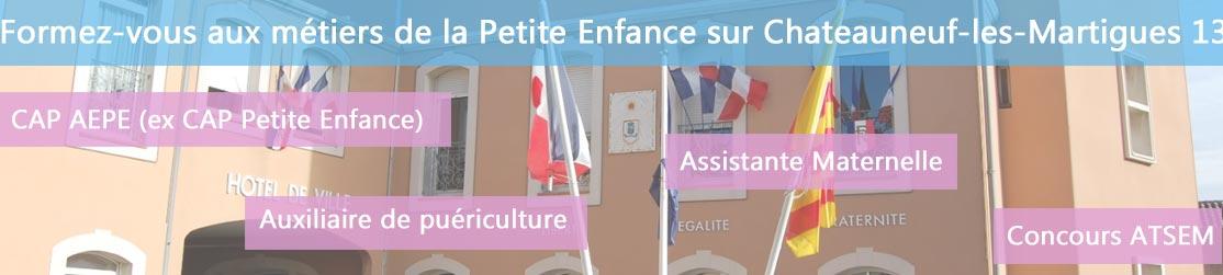 Ecole de Formation petite enfance sur Chateauneuf les Martigues