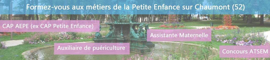 Ecole de Formation petite enfance sur Chaumont