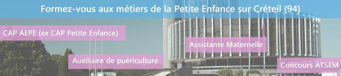 Ecole de Formation petite enfance sur Créteil