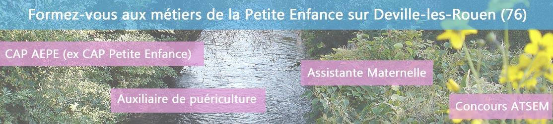 Ecole de Formation petite enfance sur Deville-les-Rouen