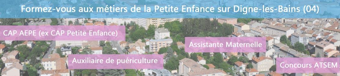 Ecole de Formation petite enfance sur Digne-les-Bains