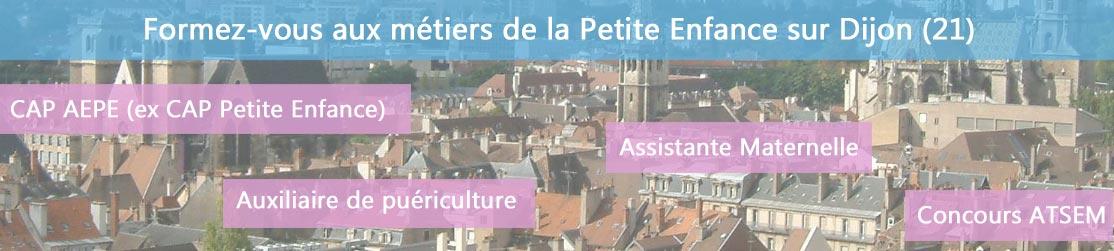Ecole de Formation petite enfance sur Dijon
