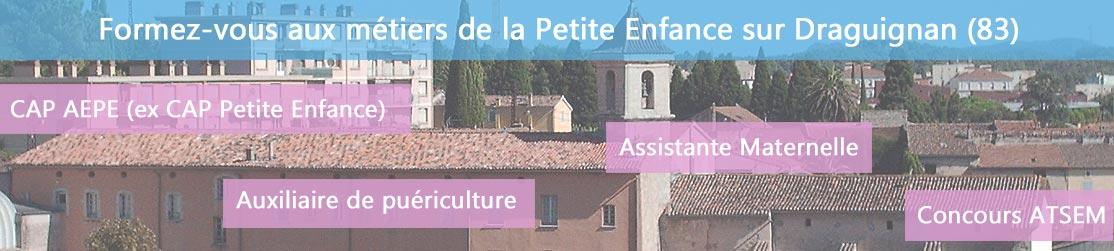 Ecole de Formation petite enfance sur Draguignan