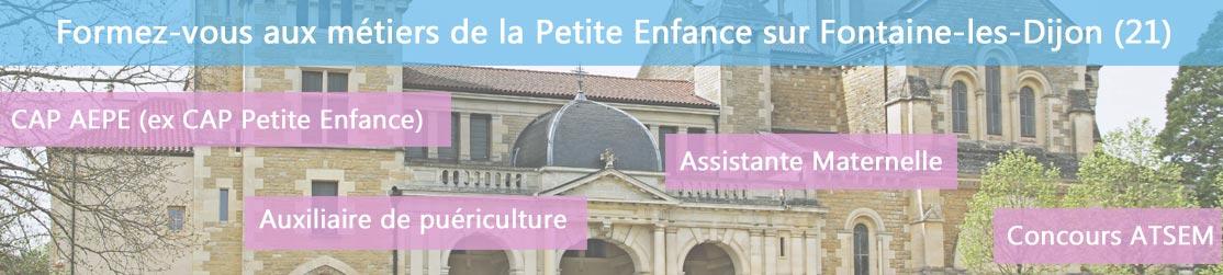 Ecole de Formation petite enfance sur Fontaine les Dijon