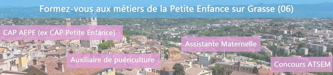Ecole de Formation petite enfance sur Grasse
