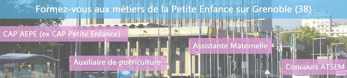 Ecole de Formation petite enfance sur Grenoble