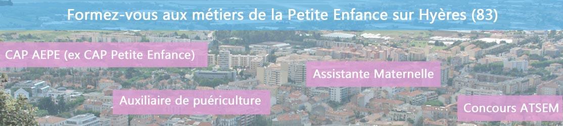 Ecole de Formation petite enfance sur Hyères
