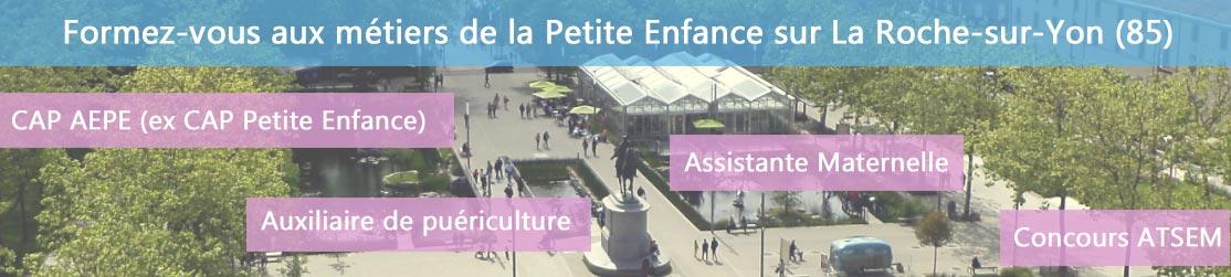 Ecole de Formation petite enfance sur La Roche-sur-Yon