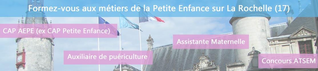 Ecole de Formation petite enfance sur La Rochelle