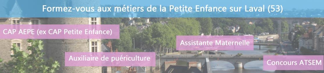 Ecole de Formation petite enfance sur Laval